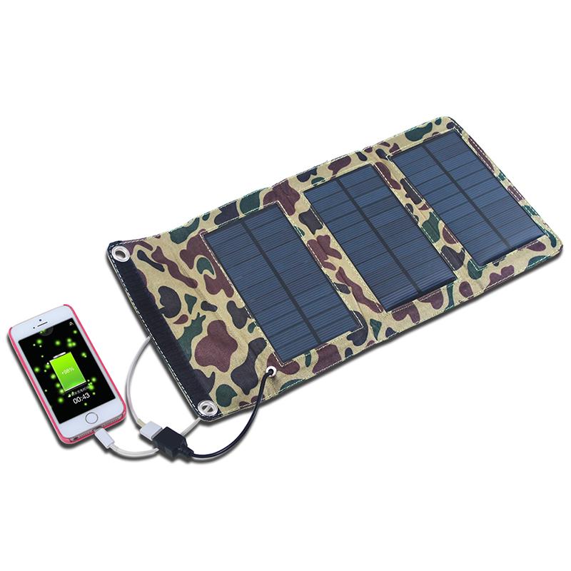 F14658 5 5v 5w Folding Foldable Portable Solar Panel