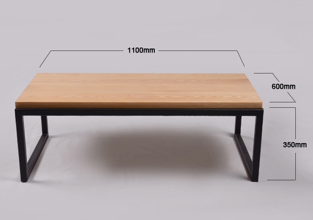 Originale minimaliste moderne l gant combinaison de bois for Table basse bois originale