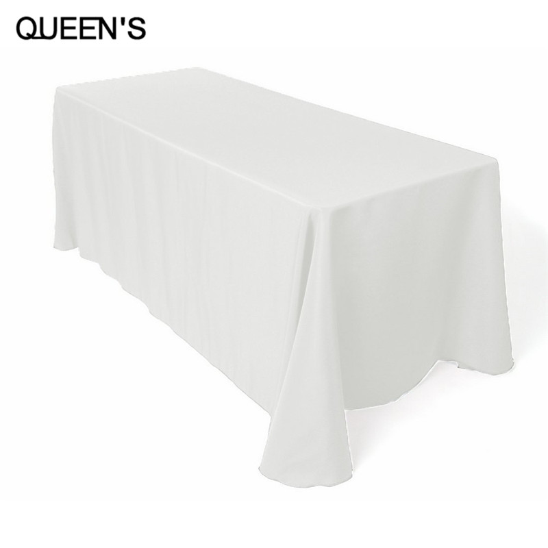 90 x 132 Inch Rectangular Polyester Tablecloth Free shipping(China (Mainland))