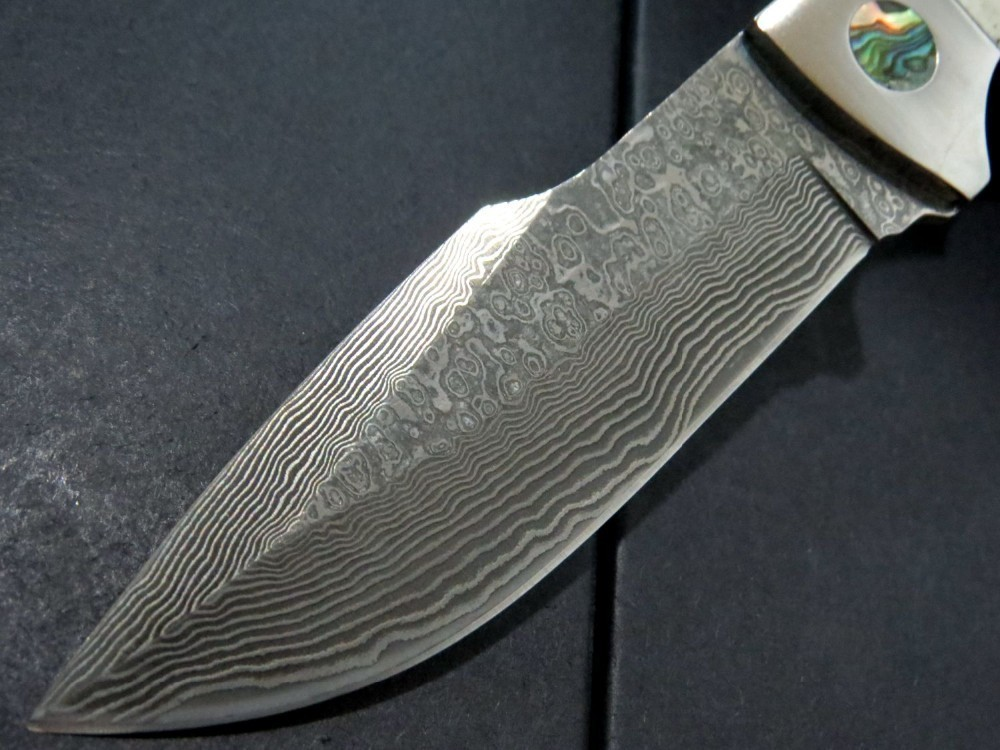 Buy High quality !100% Damascus steel - YE Tan straight knife, hunting knife, camping survival knife. cheap