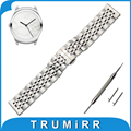 20mm Stainless Steel Watch Band for Ticwatch 2 42mm Butterfly Buckle Strap Quick Release Wrist Belt