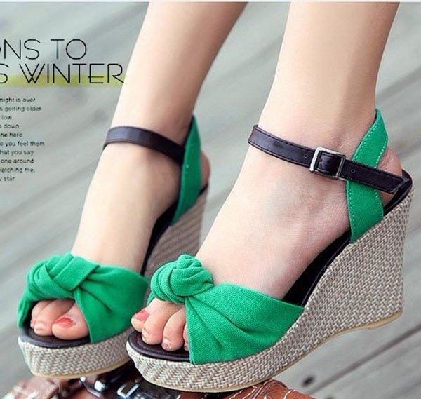 Hot Sale Cheap Summer wedge Sandals Newly Arrival Sexy Women Pumps Women Sandals summer shoes(China (Mainland))