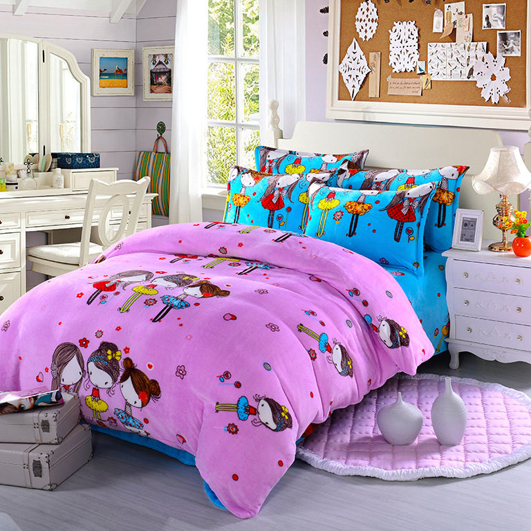 Popular girls paris bedding buy cheap girls paris bedding for Housse de couette king size