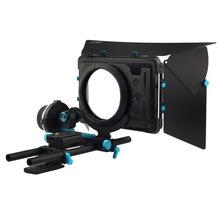 Buy Fotga DP3000 QR follow focus DSLR + 15mm rod rail baseplate + M1 matte box for $275.99 in AliExpress store