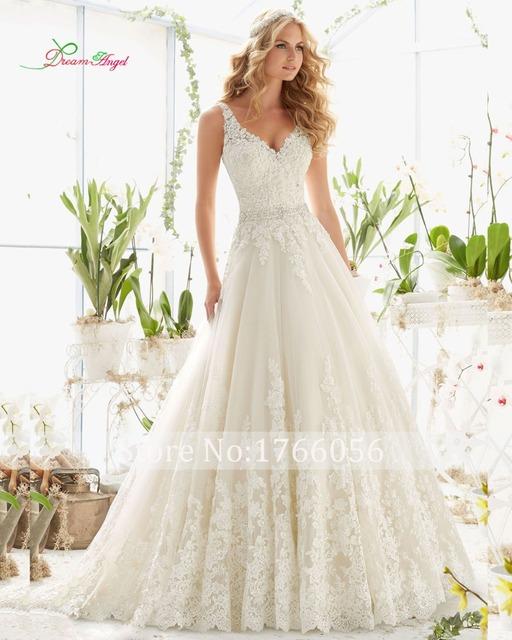 Новый модный кристалл элегантные длинные линии свадебное платье 2016 спинки бисероплетение ...