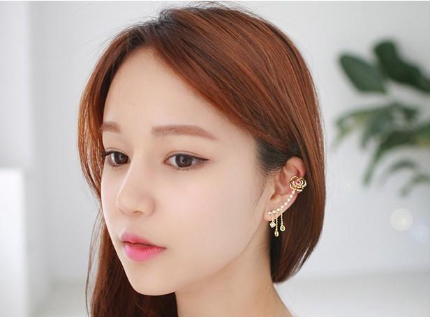 Crystal Earrings Jackets