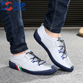 New Arrival Summer Casual Shoes for Men Fashion Shoe Men s Breathable Leather Shoes Lace up