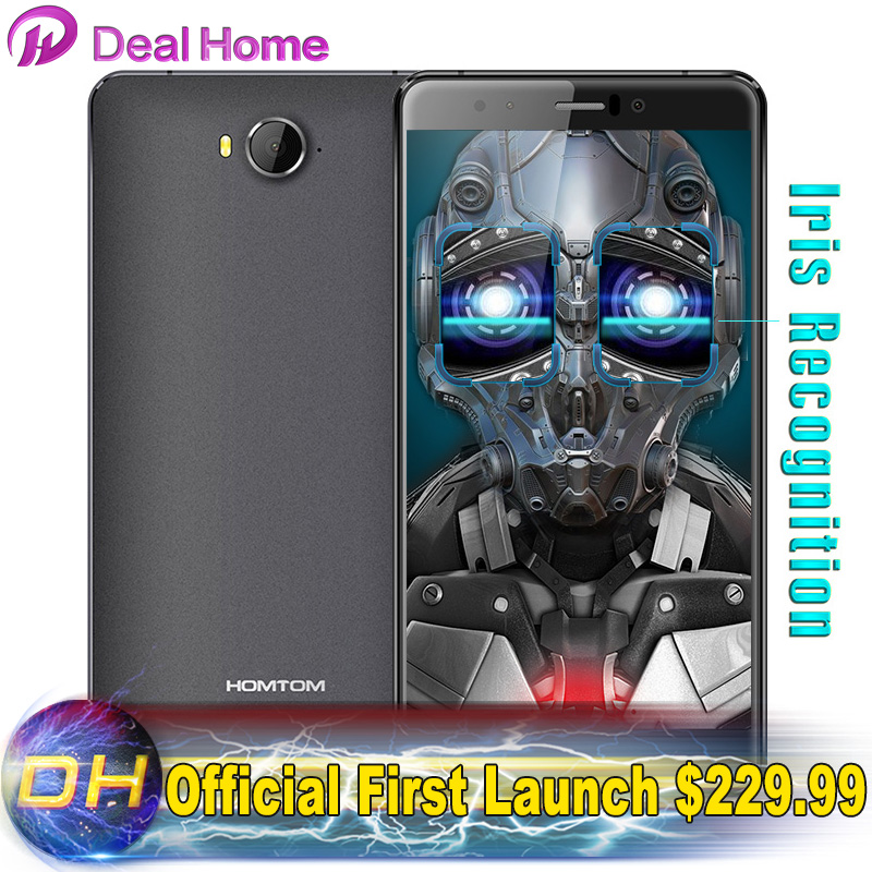 """HOMTOM HT10 Android 6.0 4GB RAM+32GB ROM MT6797 Deca Cores 5.5"""" 1080 FHD 21MP Camera 4G Mobile Phone Universal 4G Network Iris(China (Mainland))"""