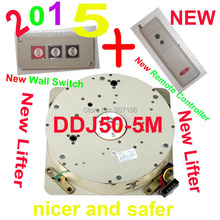 Оптовая продажа авто пульта дистанционного управления и переключатель стены вместе DDJ50 5 м электрический люстра лебедка лампы освещения лифта
