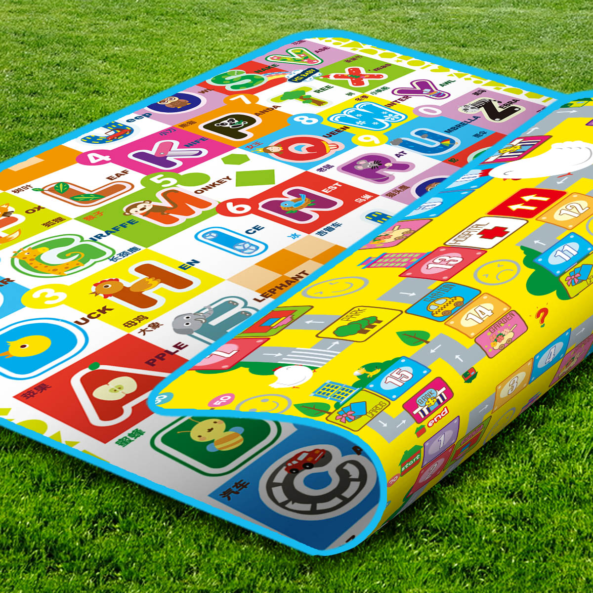 Arrival! Quality Baby Play Mat 200*160CM Fruit Millionaire Game Child Beach Picnic Carpet Crawling CM-013 - Cute Kids Zone store