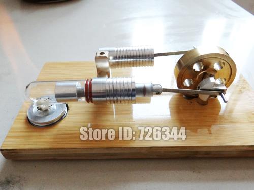 Детский набор для моделирования Stirling Engine Model Stirling diy mini hot air stirling engine motor model science