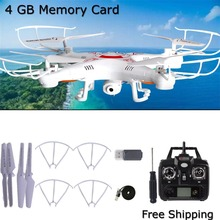 X5C-1 Helicopters Quadcopter 6-Axis Gyro RC UAV RTF With 0.3MP Camera Drone UFO White USA In Stock