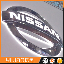 3d car logo signs with names emblems/car logo and their name metal badge for cars(China (Mainland))