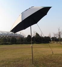 Wholesale folding  fishing umbrellas sand garden umbrella  paint steel  advertising  UV sunshade rain umbrellas (China (Mainland))