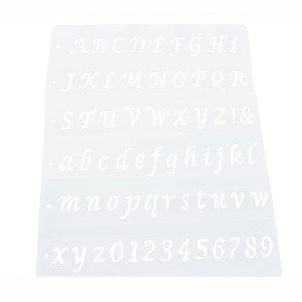 Cake Decorating Letter Templates Prezup For - Letter stencil templates