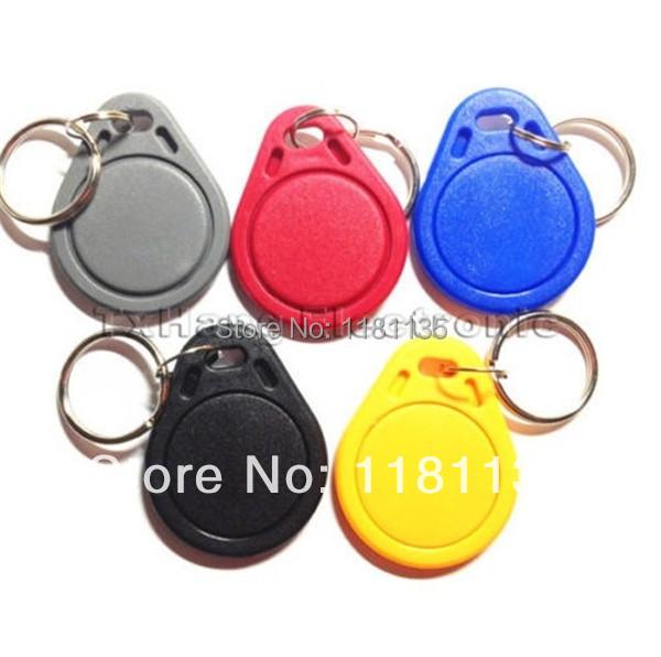 Free Shipping 10pcs/lot 13.56MHz RFID IC Key Tags Keyfobs Token NFC TAG Keychain For Arduino(China (Mainland))