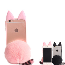 Buy Pussy Plush Cat Mouse Ear Silicone Case BBK ViVo X6 X7 X9 V3 V5 Plus X5L Max X5Pro Xplay5 6 Furry Fur Ball Coque Fundas Capa for $2.94 in AliExpress store