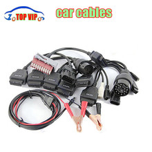 Low price OBD / OBD2 CDP Car Cable diagnostic tool 8Pcs Full Set Car Adapters tcs CDP Pro 8 Car cables(China (Mainland))