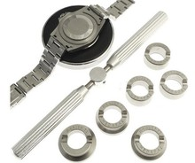 Free Shipping   Set of 6 case openers for Rolex Watch 18.5-29.5mm 5537 watch case opener