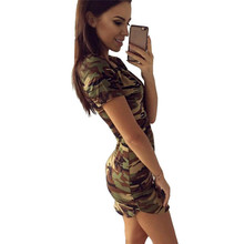 Buy Sexy Bandage Camouflage Women Dress Bodycon Camo Tunic Clothing Clothes Female Vestidos Vestido De Festa Robe Femme Kleider for $7.80 in AliExpress store