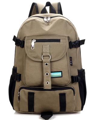 2014 new Fashion arcuate shouider strap zipper solid casual bag male backpack school bag canvas bag designer backpacks for me
