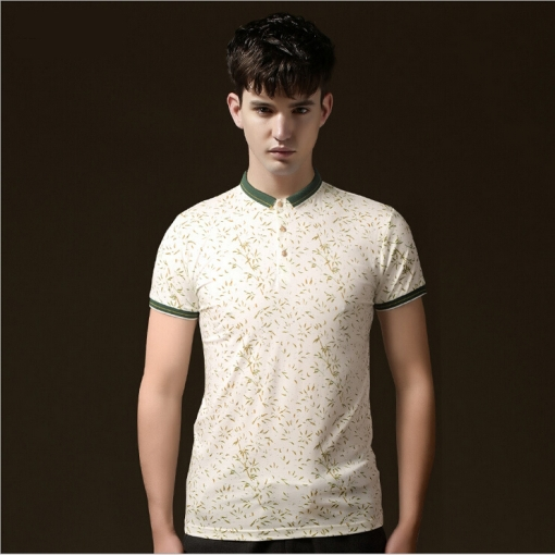 2015 Men's Fashion Stylish Brand Summer Polos Slim-fit Casual Short Sleeve Men - Vogue Home store