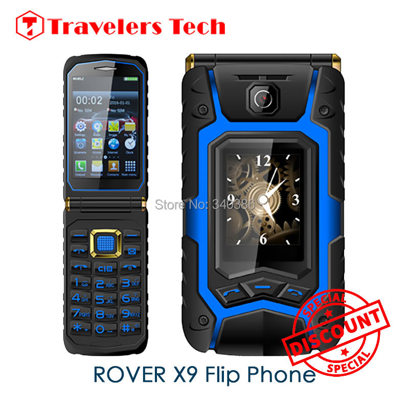 Flip Phone Land Clamshell Rover X9 One Key Dial Call Mobile Phone 3.5 inch Push-Button Phones 1 Camera Dual Screen OPPO X9(China (Mainland))