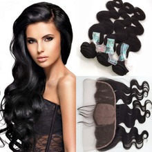 Silk Base Frontal With Bundles Body Wave Wave Peruvian Hair With Closure Ear To Ear Lace Frontal Closure With Bundles