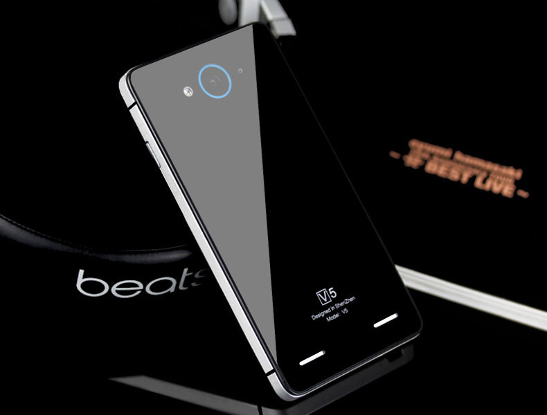 1pcs retail.zte v5 case metal.best quality luxury tempered glass cover with Aluminum edge width for zte v5 red bull case(China (Mainland))