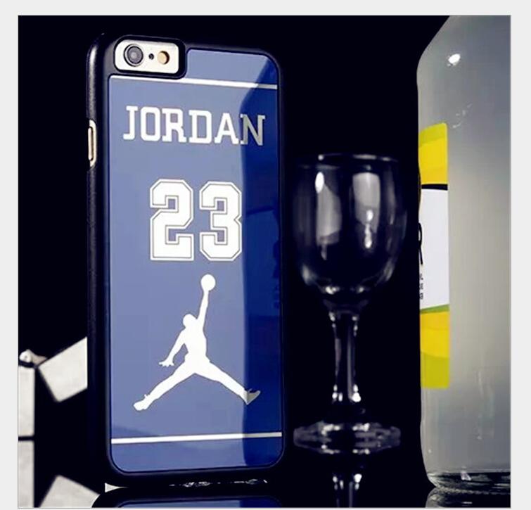 New sale Michael Jordan Plating Mirror Jordan Scratch Protection Cover For iPhone 6 4.7 inch Jordan Pattern Phone Case(China (Mainland))