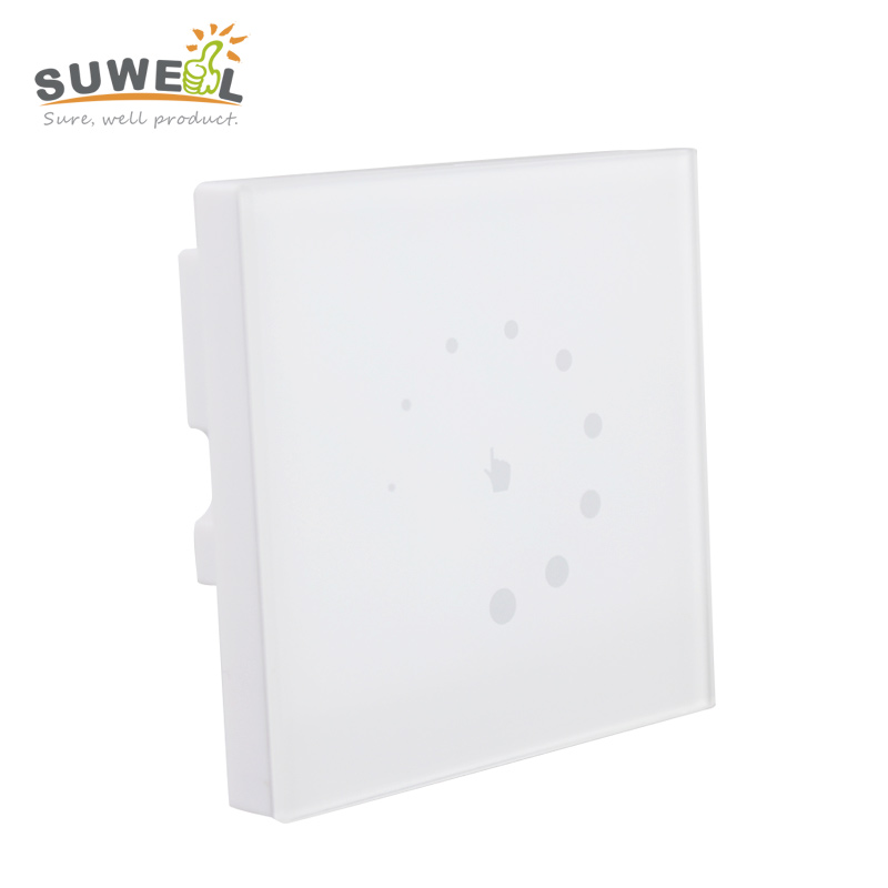 touch switch wall mounted led dimmer 12v 24v 8a for single color 3528 5050 strip light output 1. Black Bedroom Furniture Sets. Home Design Ideas