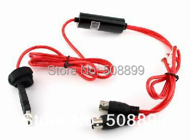 Freeshipping New 1pcs USB to MIDI Interface Adapter Cable Converter For PC Music Keyboard Synth Adapter Windows & Mac iOS(China (Mainland))