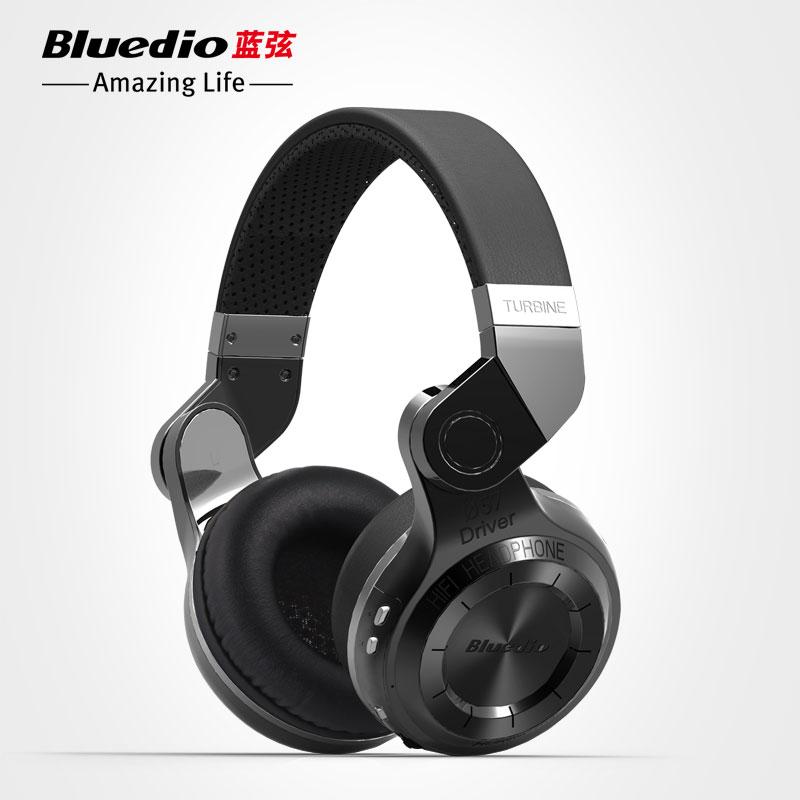 D'origine Mode Bluedio T2 Turbo Sans Fil Bluetooth 4.1 Stéréo Casque antibruit Casque avec Micro Haute Qualité Basse(China (Mainland))