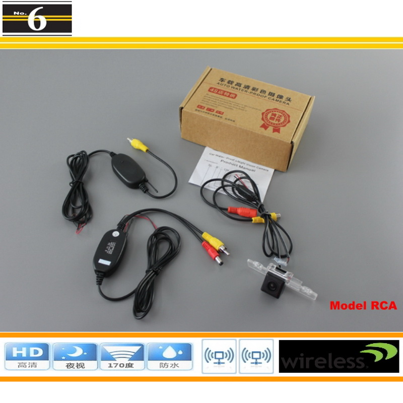Wireless Car Camera For Ford Fiesta ST / Classic / For Ikon 2002~2008 / Rear Back Up Camera / Rear View Camera / DIY Plug & Play(China (Mainland))