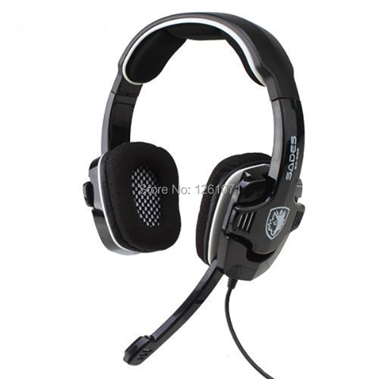Original Sades SA-922 Noise Cancelling Professional Gaming Headset Game Headphones USB 7.1 Surround Sound for PC PS4 PS3 Xbox360(China (Mainland))