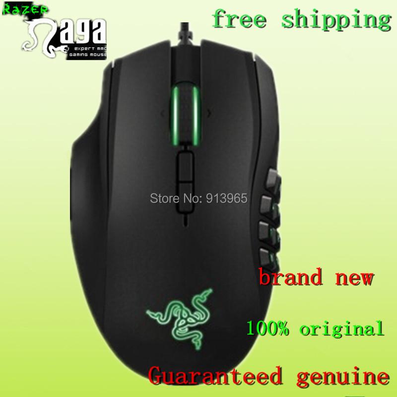 100% original Razer Naga 2014 Gaming Mouse, Left mouse & Brand NEW in box,8200dpi ,Precision 4.0G Laser Sensor& free Shipping,.(China (Mainland))