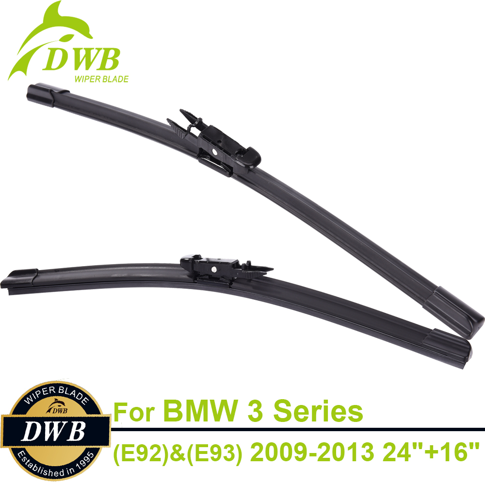 Wipers blades for bmw 3 series e92 coupe e93 convertible 2009