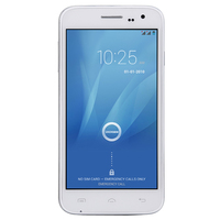 DOOGEE VOYAGER2 DG310 5' Screen MTK6582 Quad Core 1.3GHz Mobile Phone Android 4.4.2 OS 1GB+8GB 5.0MP 3G GPS OTA Cell Phone White