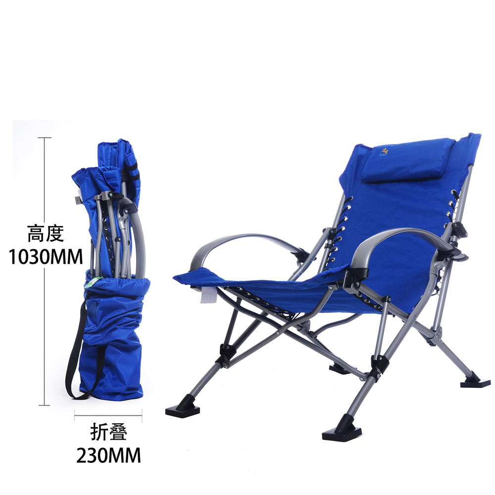 folding chair aluminum folding outdoor chairs 4 color chaise lounge