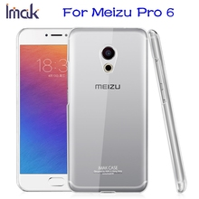 Meizu Pro 6 Case Original IMAK Crystal Series Wear-resisting Hard PC Cover Clear Case Glossy Ultra Thin Skin Coque Phone Cases(China (Mainland))