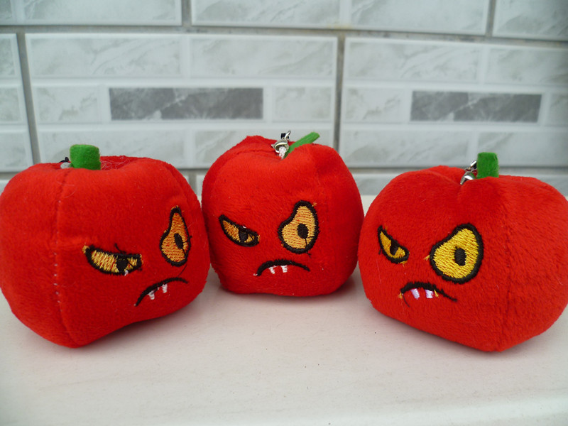 Plant cherry chili Jack-a-Lent doll toy chili plush toy pendant(China (Mainland))