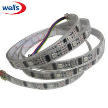 Buy 5v led strip waterproof 1M 32 Pixels WS2801 Led Light 32pcs WS2801 IC SMD 5050 RGB LED Dream Color Black/White PCB Strip Light for $10.80 in AliExpress store