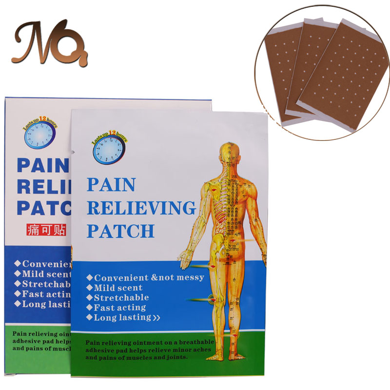 30 Piece/5 Boxes Pain Reliefing Patch 100% Function Well Chinese Medical porous Pain Plaster Health Care Products Body Massage(China (Mainland))