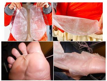 Hot!!Free shipping 2 pairs Exfoliating Foot Mask foot care mask foot care health care