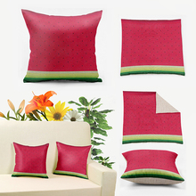 "Buy IKathoME Watermelon Pillow Covers 18,20,22,24,26x26"",Fruit Decorative Throw Pillow Chair Cushion Covers Pillowcase 65*65cm D519 for $7.99 in AliExpress store"