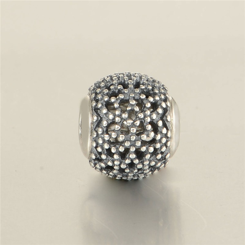 """New Essence style Small hole Bead """"WELLNESS"""" Charms Fit Bracelet 925 Silver Sterling Jewelry DIY beads making fine jewelry ST115(China (Mainland))"""