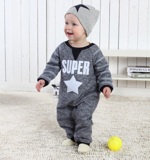 Baby Costume Romper And Hat Boys Jumpsuit New Born Baby Clothes Infant Long Sleeve Products Sport Romper hy210<br><br>Aliexpress