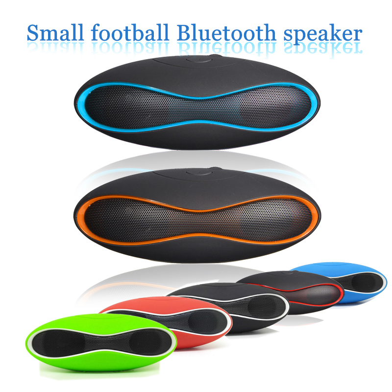 New Mult-function Mini Football Portable Wireless Stereo Bluetooth Speaker Mic Super Bass FM Support for iPhone for Samsung(China (Mainland))