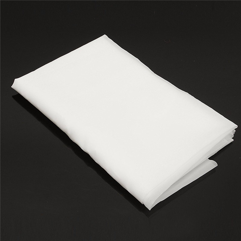 Durable Quality White Nylon Filtration Sheet 200 Mesh Water Oil Industrial Filter Cloth 1mx1m 40-Inch Vacuum Cleaner Parts(China (Mainland))