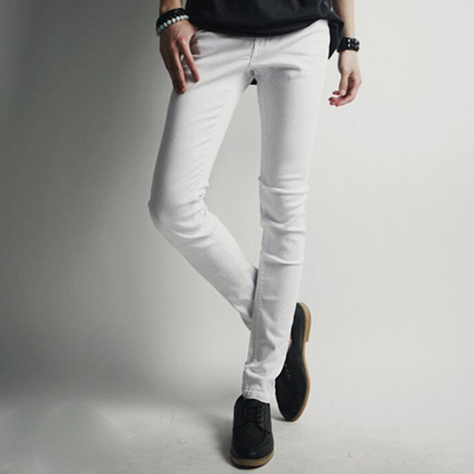 High Quality Skinny White Jeans Men-Buy Cheap Skinny White Jeans ...